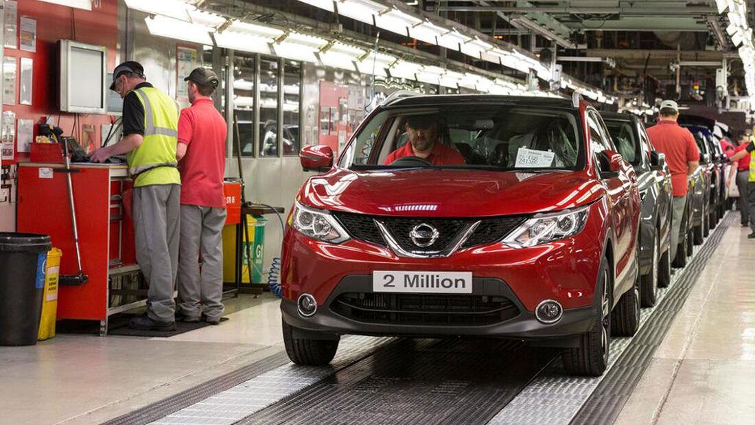 Nissan Produktion Sunderland
