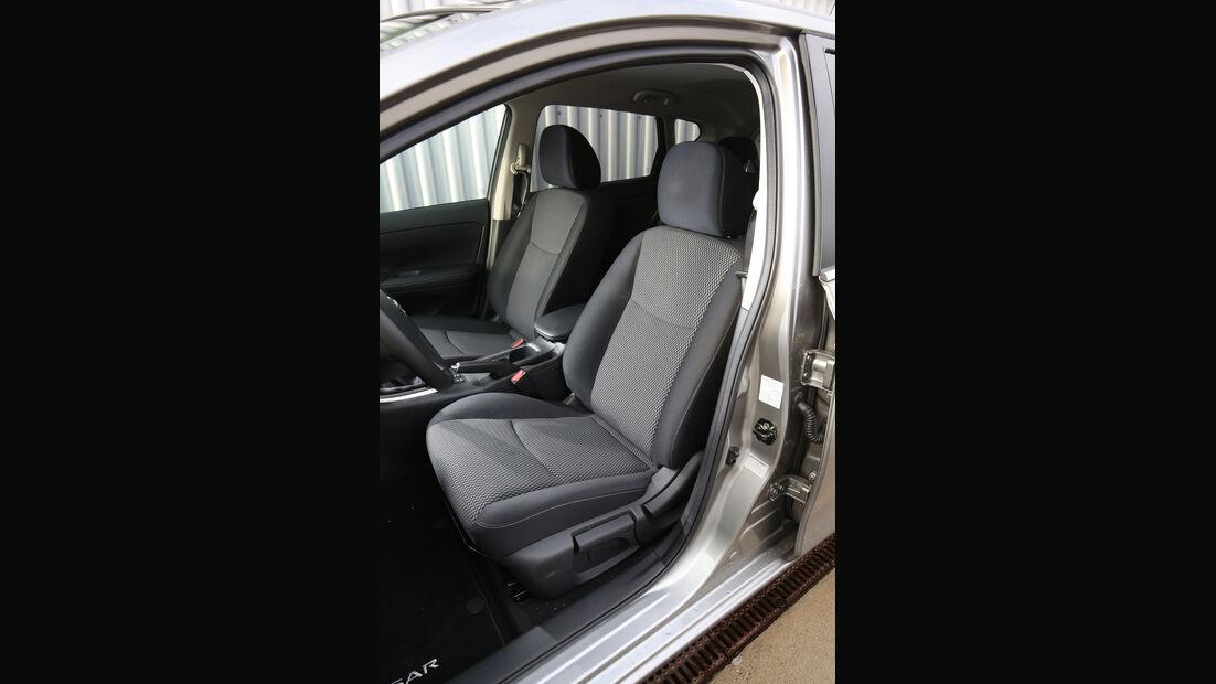Nissan Pulsar 1.2 DIG-T, Fahrersitz