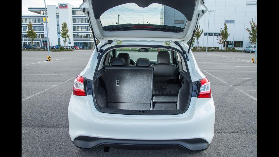 Nissan Pulsar 1.5 dCi, Kofferraum