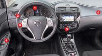 Nissan Pulsar, Cockpit