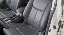 Nissan Pulsar, Fahrersitz