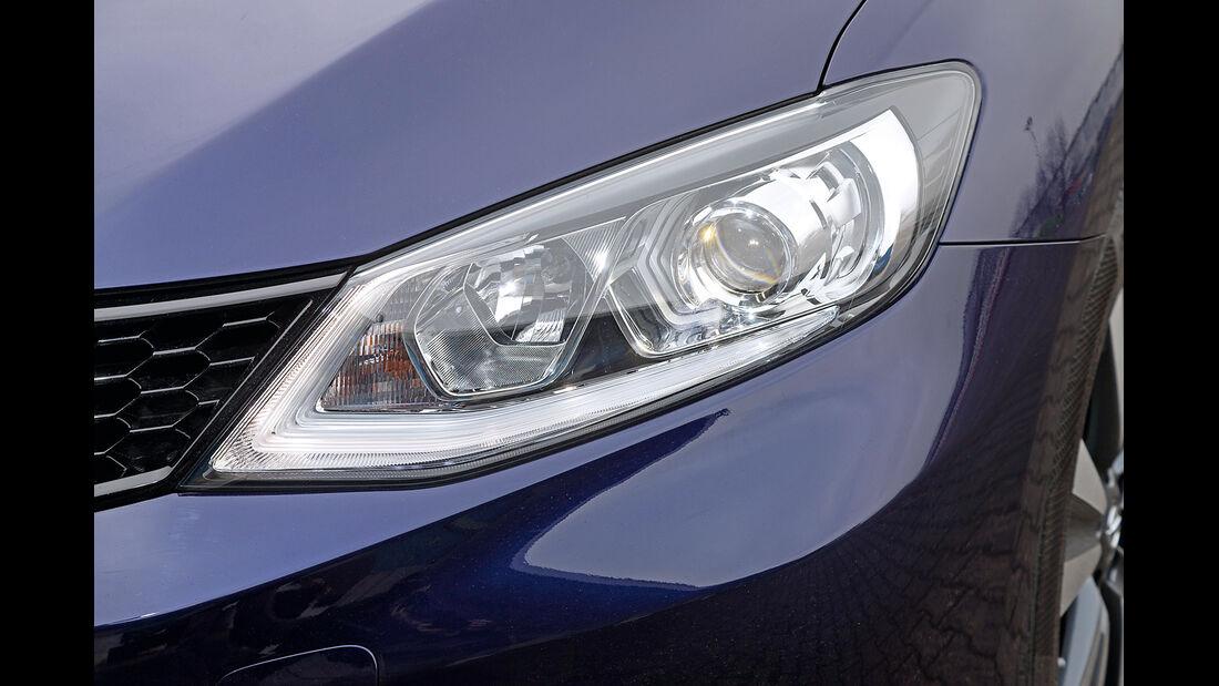 Nissan Pulsar, Frontscheinwerfer