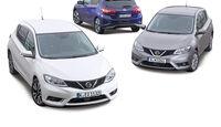 Nissan Pulsar, Modellvarianten