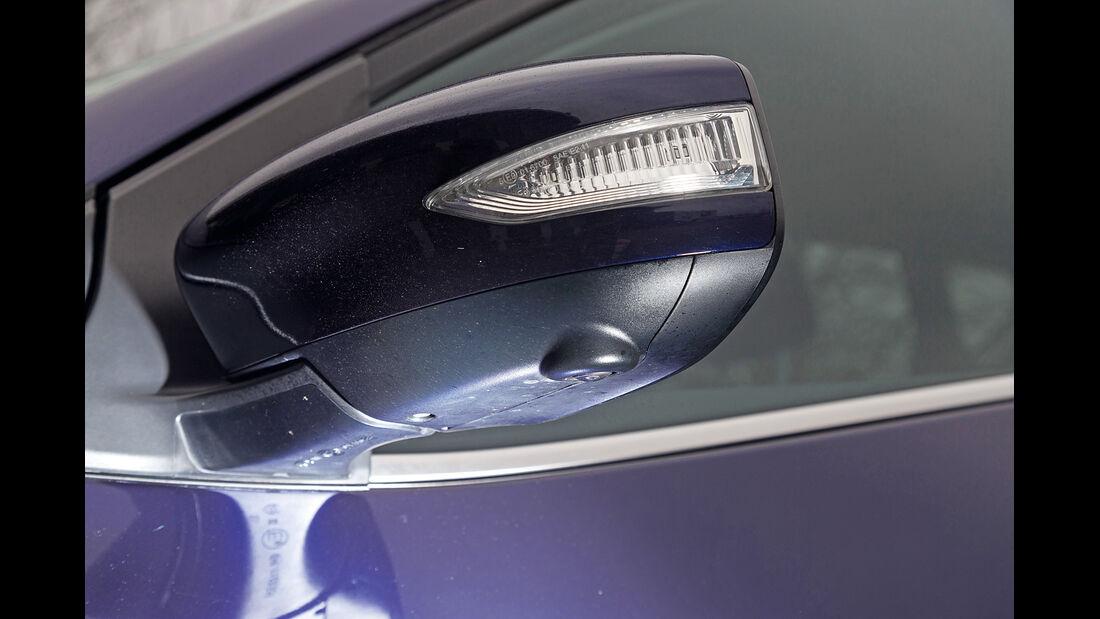 Nissan Pulsar, Seitenspiegel