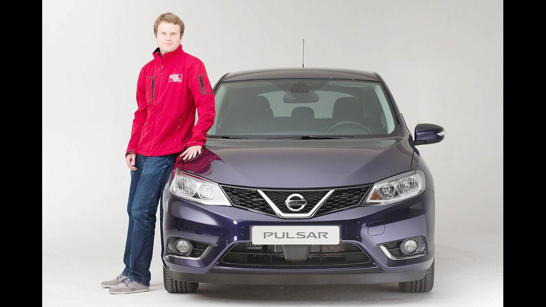 Nissan Pulsar Sitzprobe Andreas Haupt