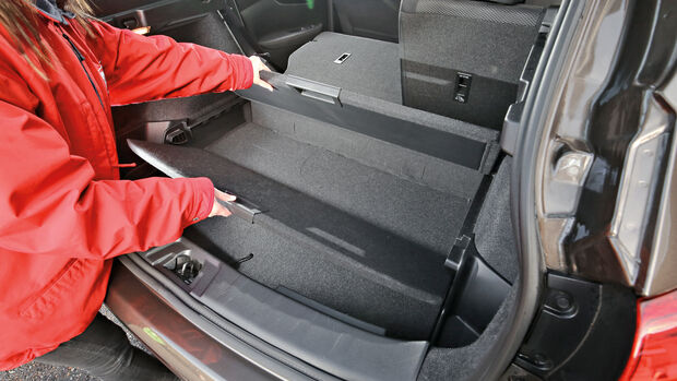 Nissan Qashqai 1.2 DIG-T, Ablagefach, Stauraum