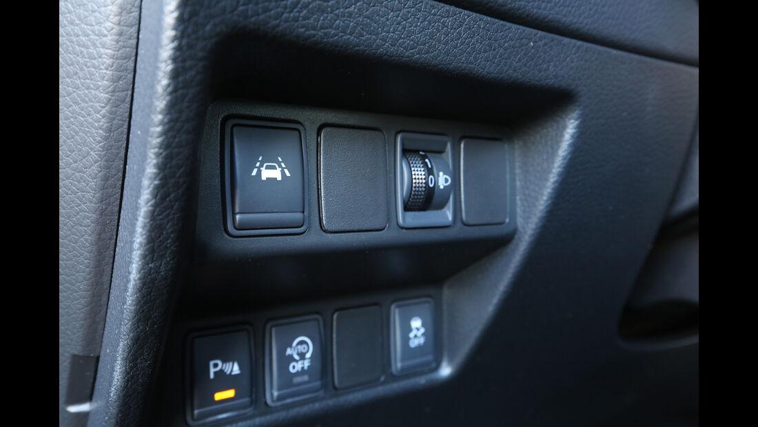 Nissan Qashqai 1.2 DIG-T, Bedienelemente