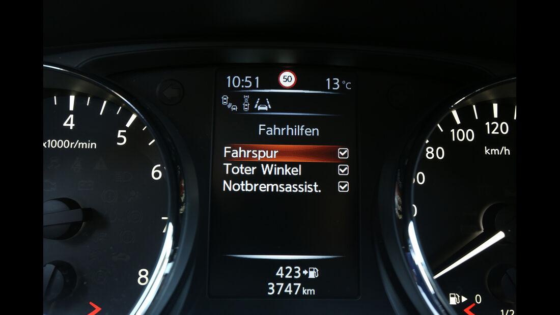 Nissan Qashqai 1.2 DIG-T, Fahrassistent, Anzeige