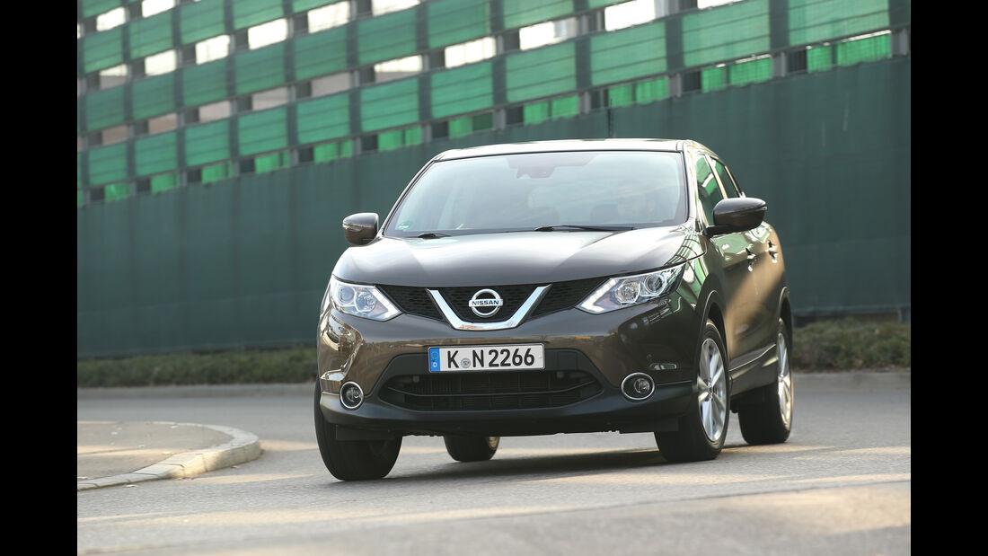 Nissan Qashqai 1.2 DIG-T, Frontansicht