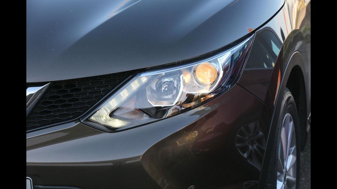 Nissan Qashqai 1.2 DIG-T, Frontscheinwerfer