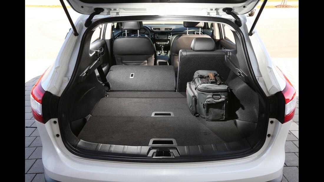 Nissan Qashqai 1.2 DIG-T, Kofferraum