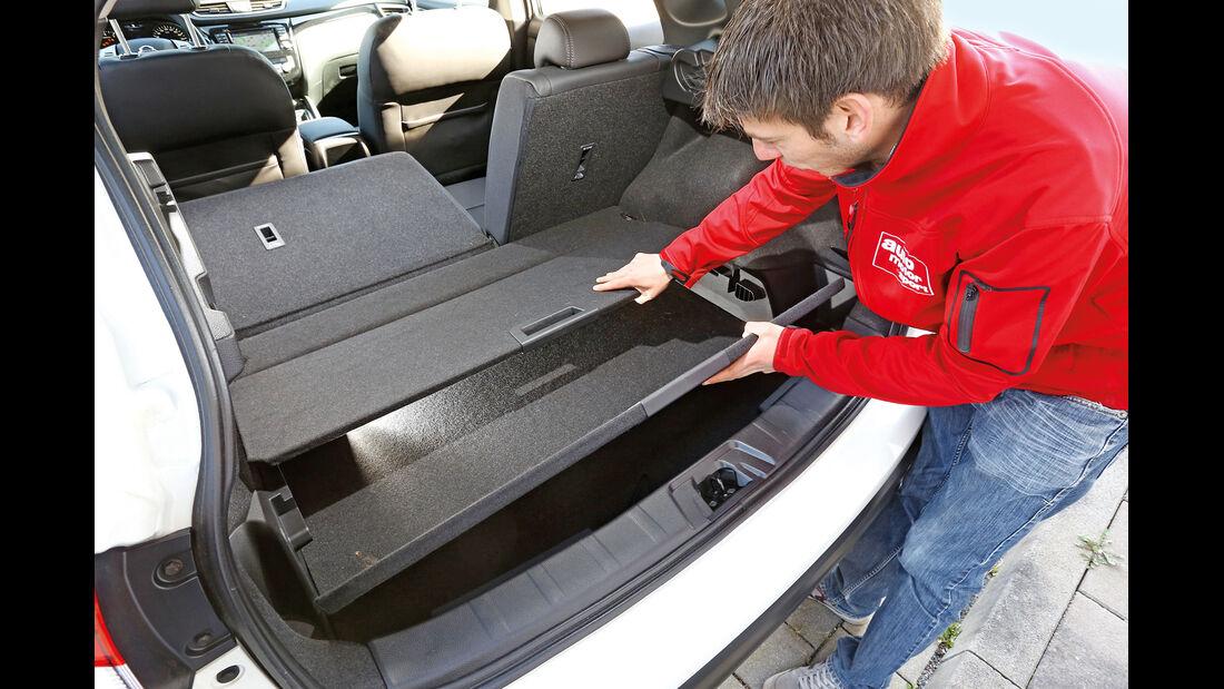 Nissan Qashqai 1.2 DIG-T, Kofferraum, Zwischenboden