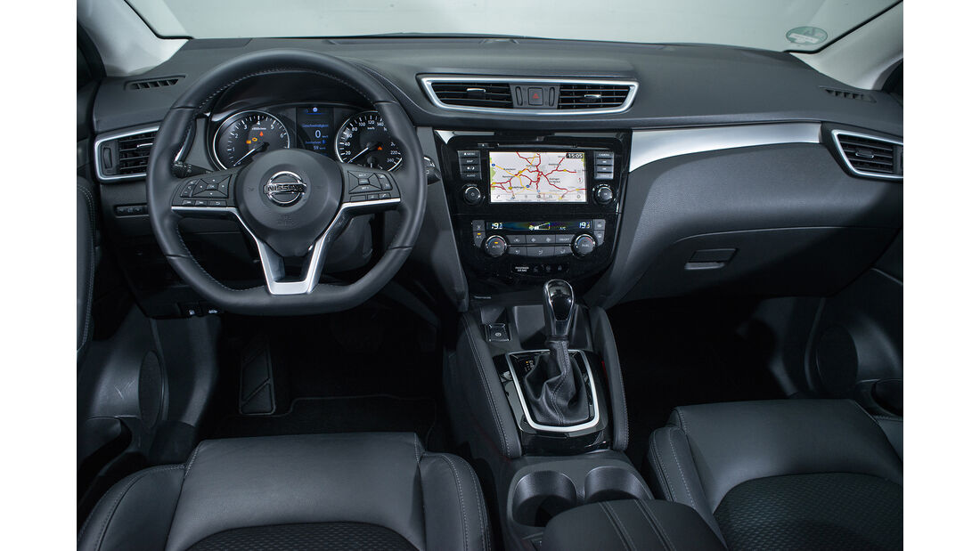 Nissan Qashqai 1.3 DIG-T, Interieur