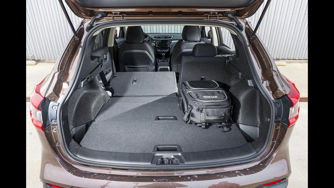 Nissan Qashqai 1.3 DIG-T, Kofferraum