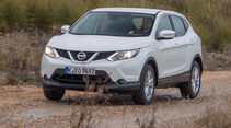 Nissan Qashqai 1.5 dCi, Frontansicht