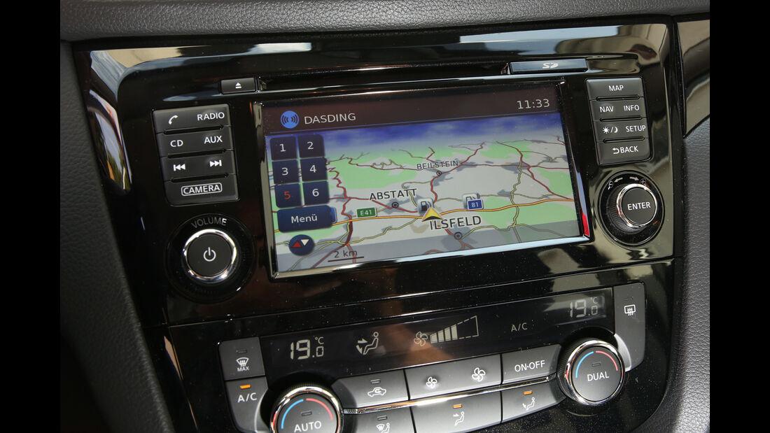 Nissan Qashqai 1.6 DCi 4X4, Display, Infotainment