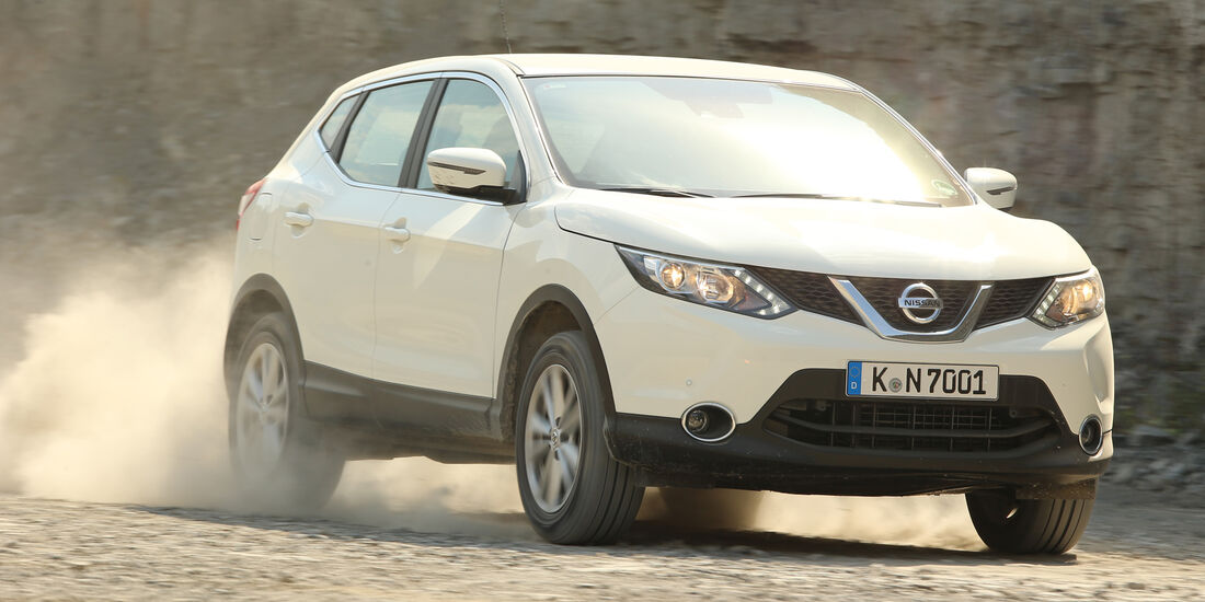 Nissan Qashqai 1.6 DCi 4X4, Frontansicht