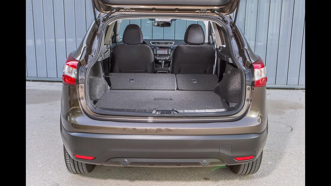 Nissan Qashqai 1.6 dCi 4x4, Kofferraum