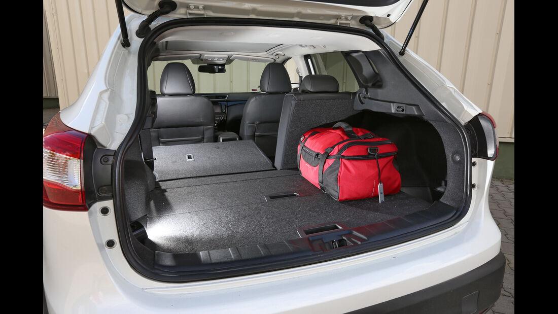 Nissan Qashqai 1.6 dCi 4x4, Kofferraum, Ladefläche
