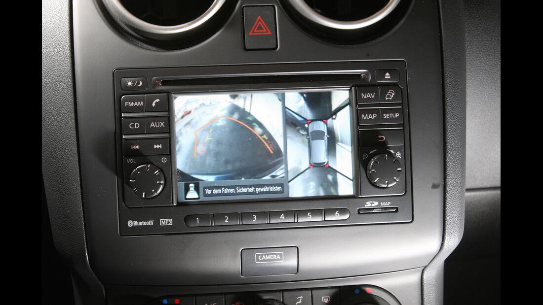 Nissan Qashqai 1.6 dCi, Bildschirm, Rückfahrkamera