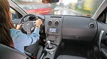 Nissan Qashqai 1.6 dCi, Cockpit, Innenraum