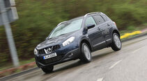 Nissan Qashqai 1.6 dCi, Frontansicht