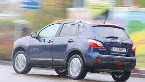 Nissan Qashqai 1.6 dCi, Seitenansicht