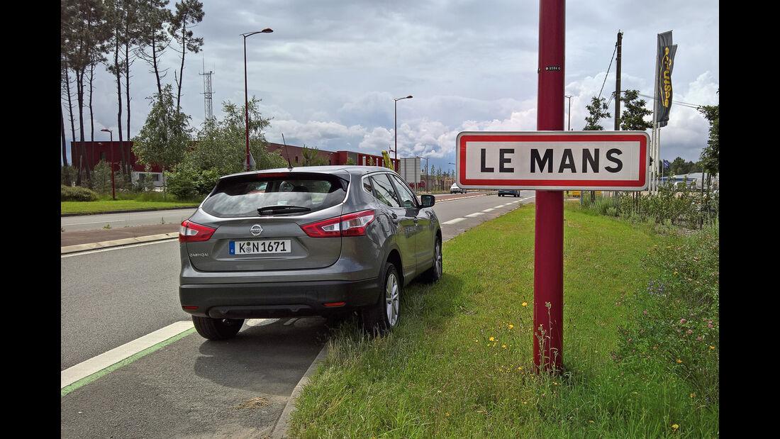 Nissan Qashqai 1.6dCi 4x4, Le Mans