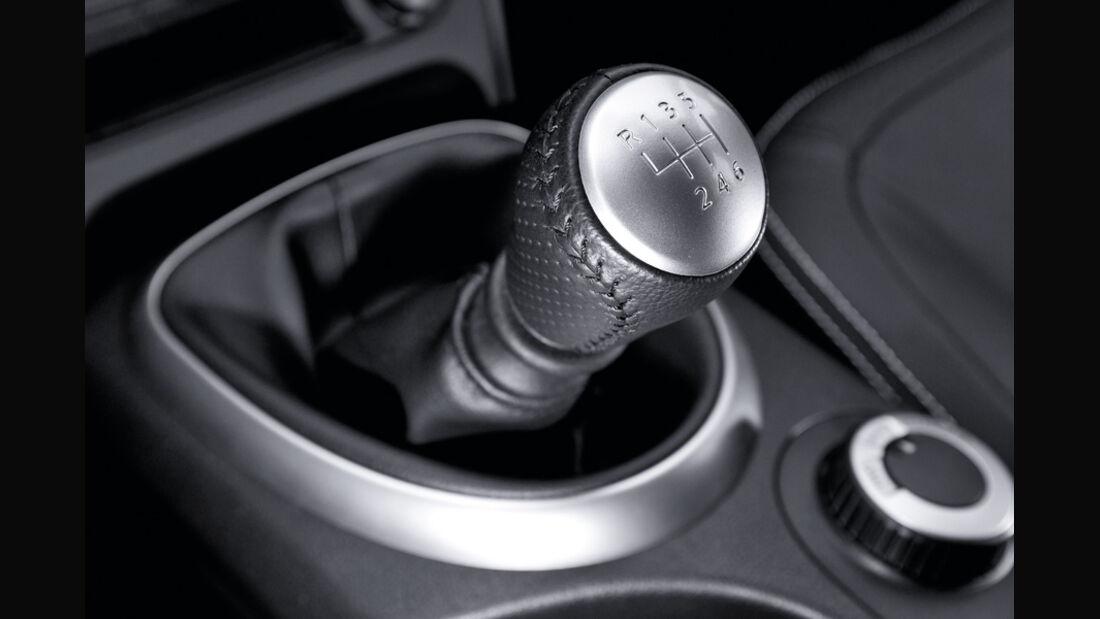 Nissan Qashqai 2.0, Nissan Qashqai 2.0dCi, Schalthebel, Schaltknauf