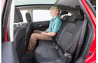 Nissan Qashqai +2 2.0 dCi, Rücksitz