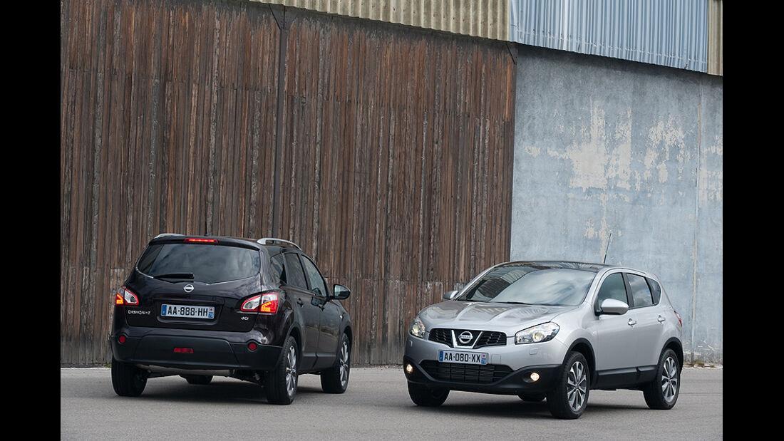 Nissan Qashqai+2 Facelift