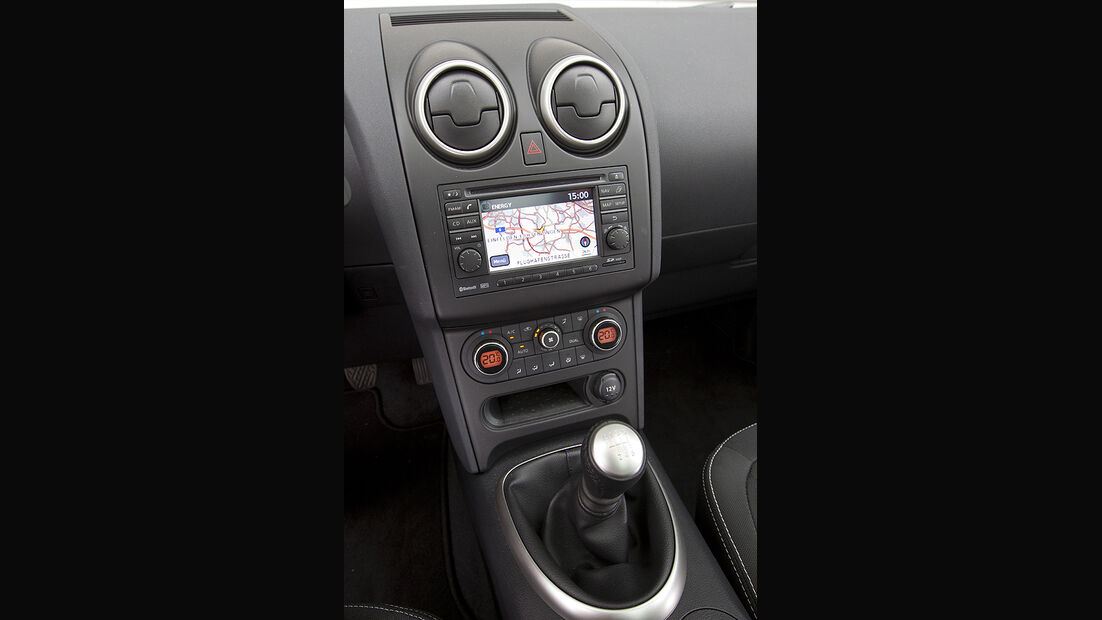 Nissan Qashqai+2 Innenraum