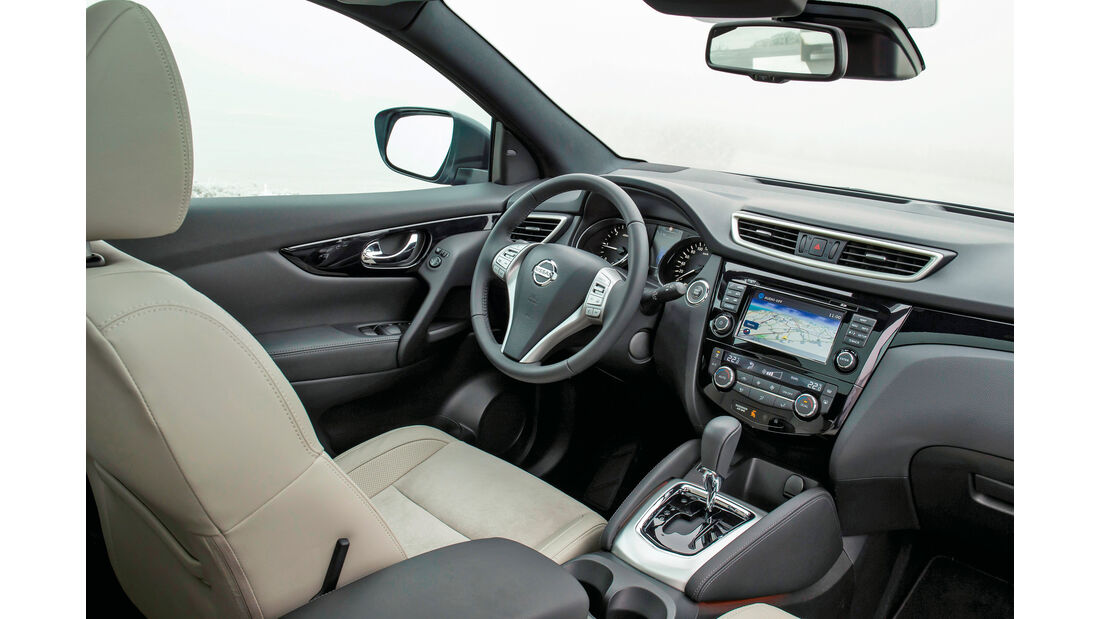Nissan Qashqai, Cockpit