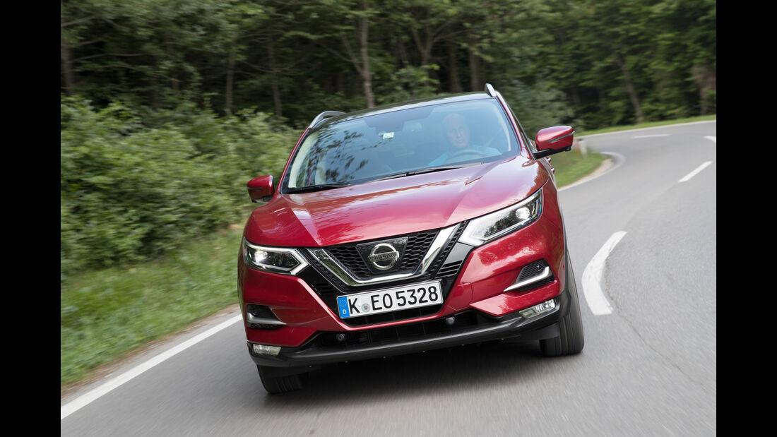 Nissan Qashqai Facelift 2017 Fahrbericht