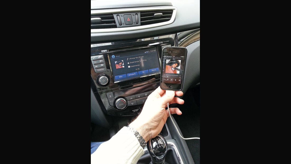 Nissan Qashqai, Infotainment