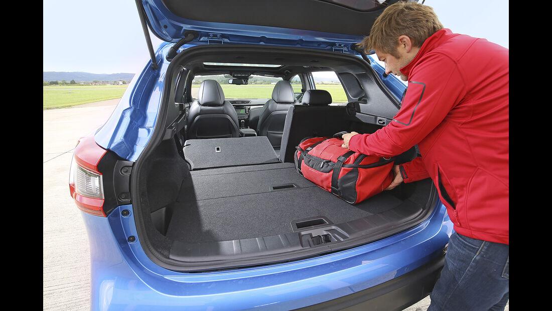 Nissan Qashqai, Interieur Kofferraum