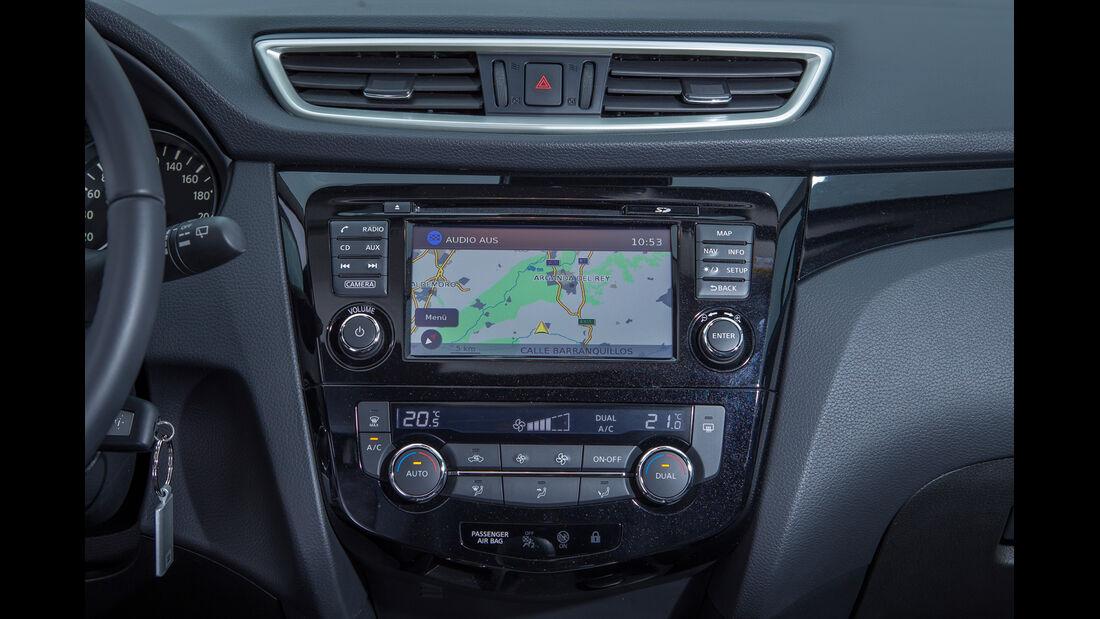 Nissan Qashqai, Navi, Monitor
