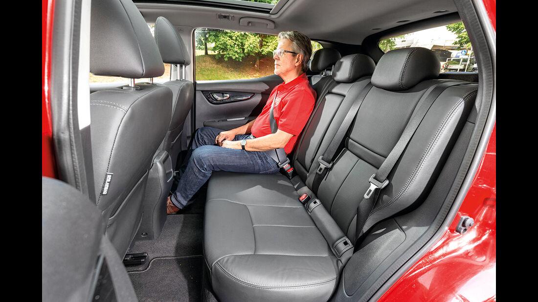 Nissan Qashqai SUV Vergleich AMS1417