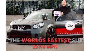 Nissan Qashqai Weltrekord SUV