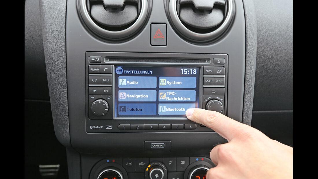 Nissan Qashqai dCi 130, Bordcomputer