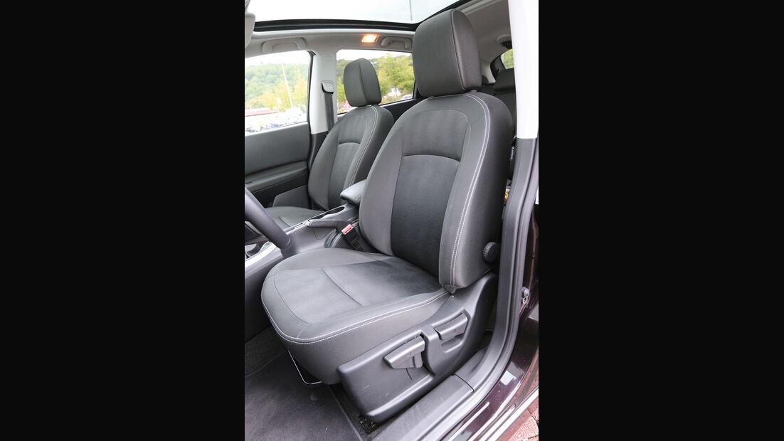 Nissan Qashqai dCi 130, Fahrersitz
