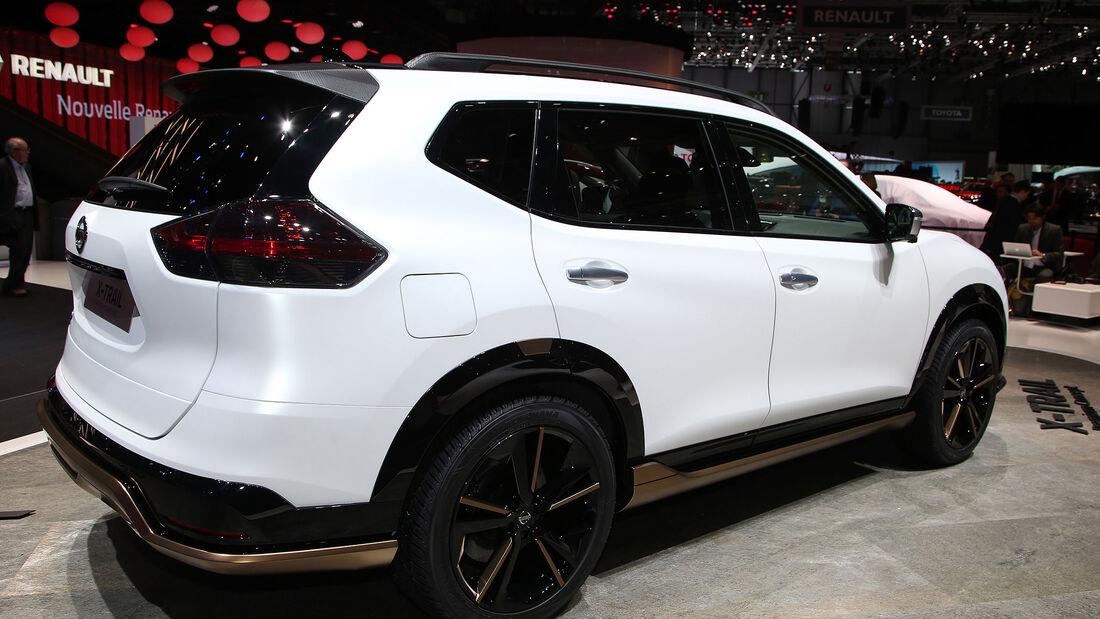 Nissan Qashqai und X-Trail Premium Concept
