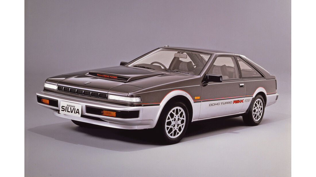 Nissan Silvia, Frontansicht
