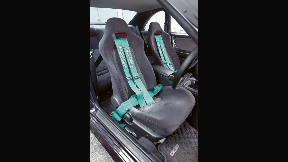 Nissan Skyline GT-R BCNR33, Fahrersitz