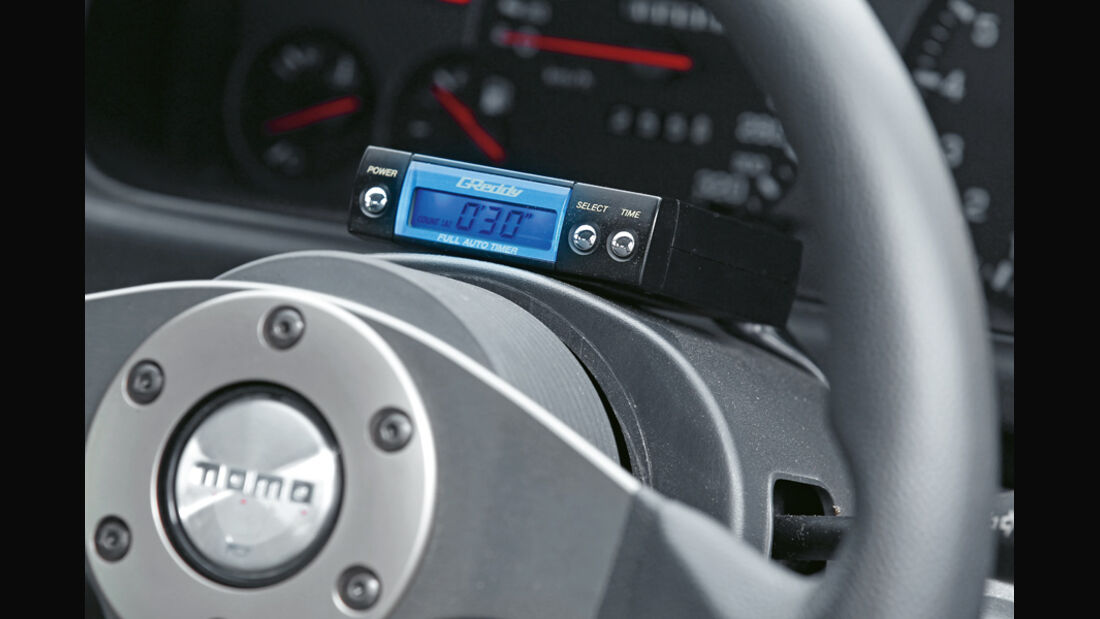 Nissan Skyline GT-R BCNR33, Lenkrad, Detail