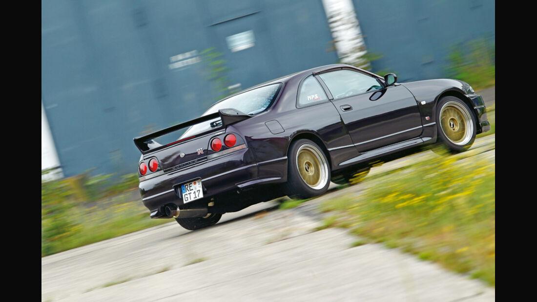 Nissan Skyline GT-R BCNR33, Seitenansicht