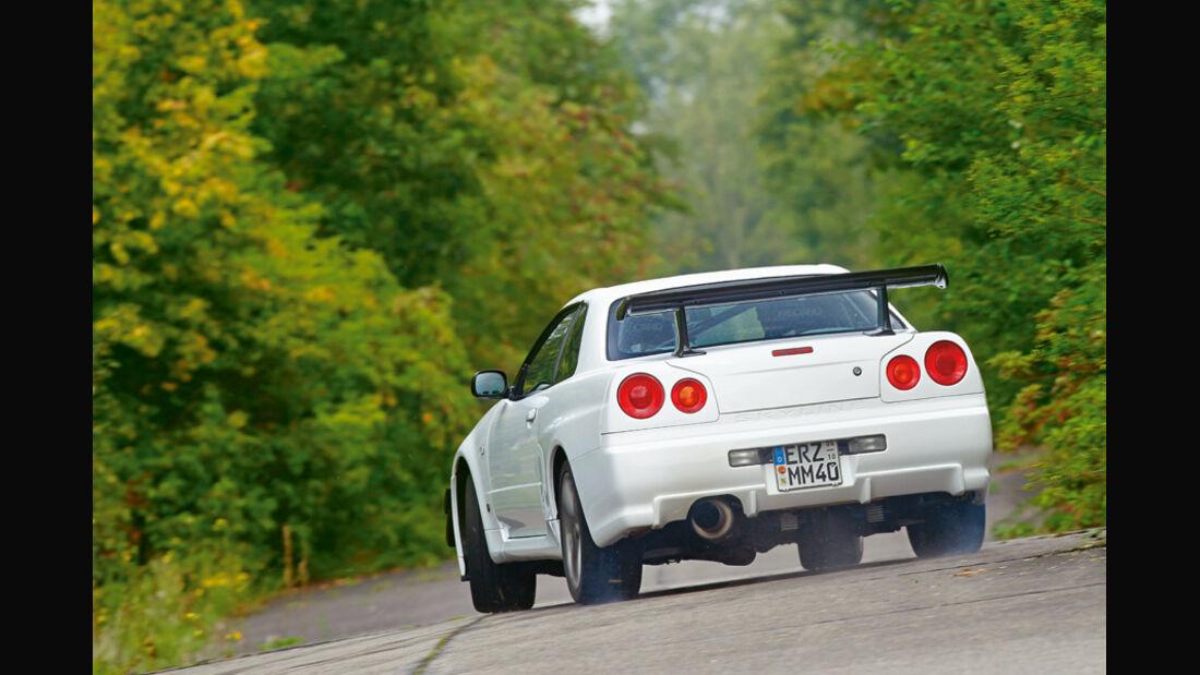 Nissan Skyline GT-R BNR34, Heck
