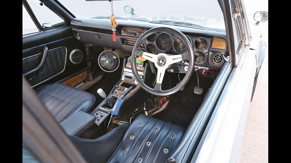 Nissan Skyline GT-R, Cockpit, Lenkrad