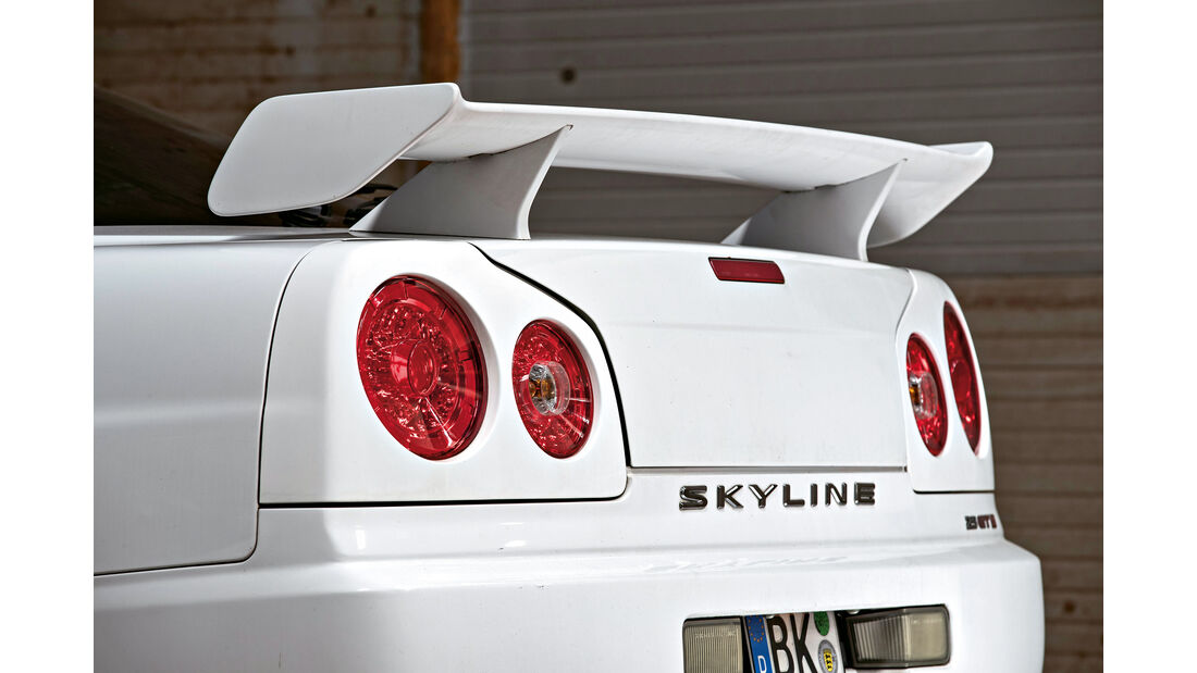Nissan Skyline, Heckspoiler