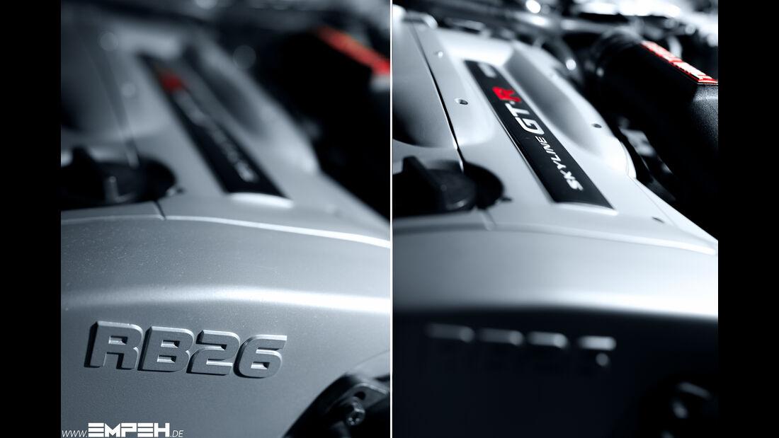 Nissan Skyline R34 GT-R, Motor, RB26DETT